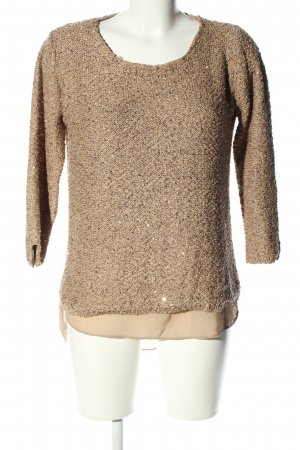 Zara Knit Oversized Pullover creme Webmuster Casual-Look