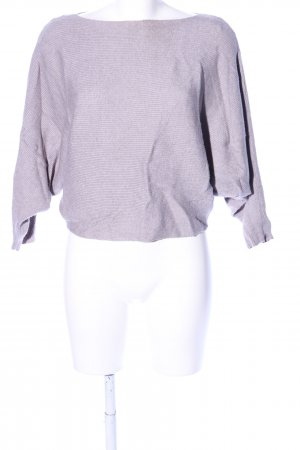 Zara Knit Oversized Pullover pink Casual-Look