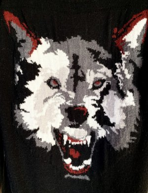ZARA Knit Pullover Wolf