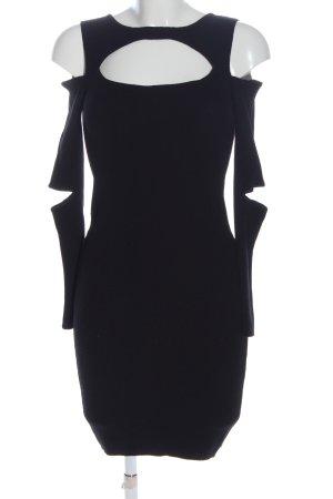 Zara Knit Robe pull noir élégant