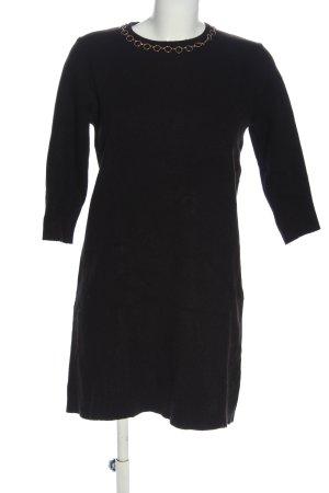 Zara Knit Abito maglione nero stile professionale