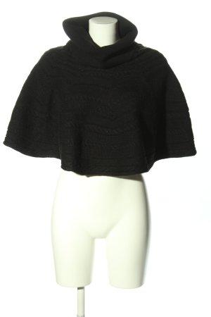 Zara Knit Pulloverkleid schwarz Casual-Look