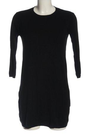 Zara Knit Robe pull noir style décontracté