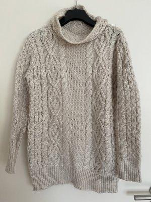 Zara Knit Rollkragen Pullover dick warm M