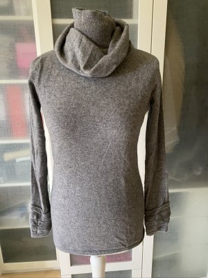 Zara Knit Rollkragen Pullover Gr. M grau