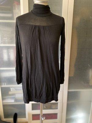 Zara Knit Rollkragen Pullover hauchdünne Baumwolle Gr. S