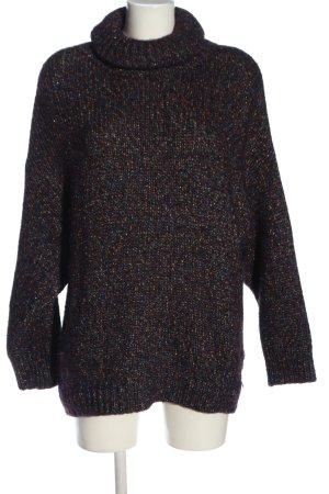 Zara Knit Rollkragenpullover meliert Casual-Look