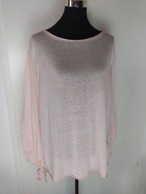 ZARA Knit rosa Oversize Feinstrick Pulli, Sz S