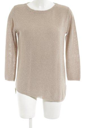 Zara Knit Kraagloze sweater room wetlook