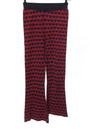Zara Knit Pantalón de campana estampado gráfico look efecto mojado