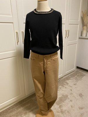 Zara Knit Shirt mit Kette