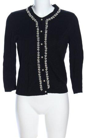 Zara Knit Veste chemise noir élégant
