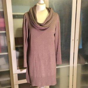 ZARA Knit Strick Kleid mit Rollkragen Gr. L