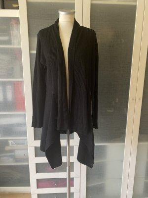 Zara Knit Strick Mantel Gr L top