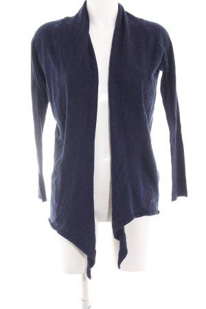 Zara Knit Strickjacke blau Casual-Look