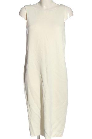 Zara Knit Strickkleid wollweiß Elegant