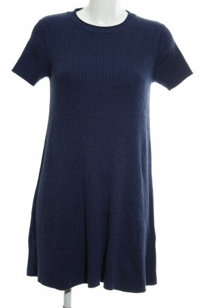 Zara Knit Strickkleid blau Casual-Look