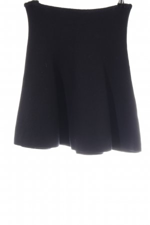 Zara Knit Knitted Skirt black casual look