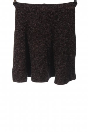 Zara Knit Knitted Skirt flecked casual look