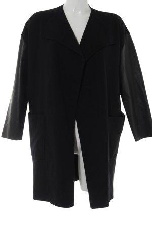 Zara Knit Cache-cœur en tricot noir style décontracté
