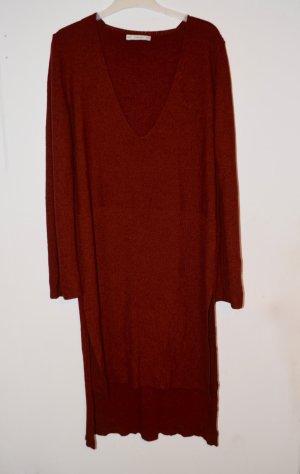 Zara Knit Sweater Dress Strick S/M