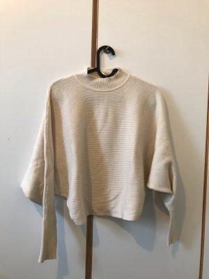 Zara knit Sweater/Pullover weiß/creme,Größe S