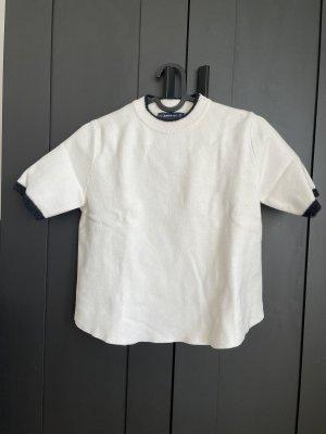Zara Knit T-Shirt Größe S