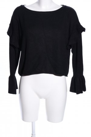 Zara Knit Jersey marinero negro look casual