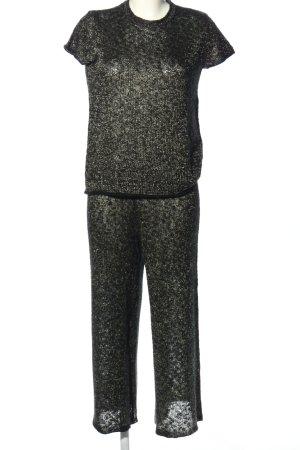 Zara Knit Twin Set tejido moteado look casual