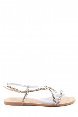 Zara Comfort Sandals silver-colored-natural white casual look