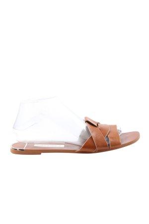Zara Outdoor Sandals brown casual look