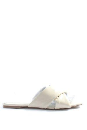 Zara Komfort-Sandalen weiß Casual-Look