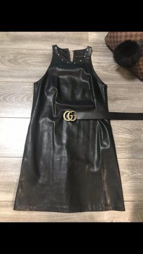 Zara Kunstleder Kleid