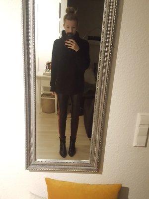 Zara Kunstlederhose