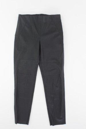 Zara Kunstlederhose Größe M schwarz aus Polyester