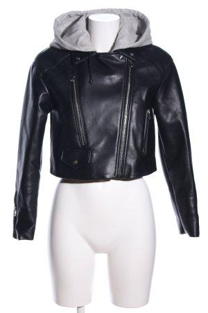 Zara jacke schwarz Casual-Look