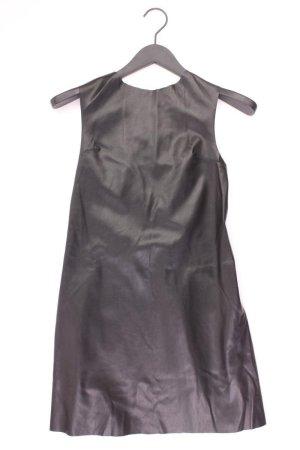 Zara Kunstlederkleid Größe S neuwertig Ärmellos schwarz aus Viskose