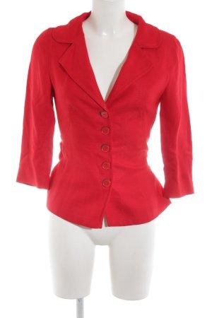 Zara Kurz-Blazer rot Business-Look