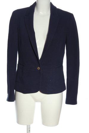 Zara Kurz-Blazer blau Casual-Look