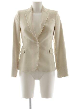 Zara Kurz-Blazer creme Business-Look