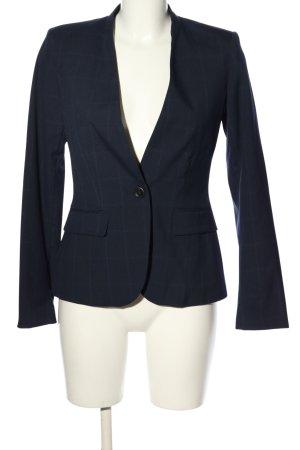 Zara Kurz-Blazer blau Karomuster Business-Look