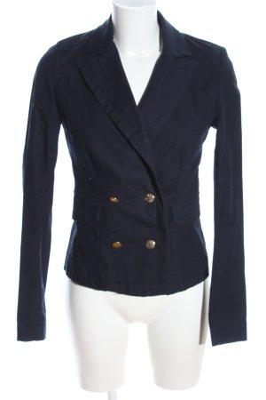 Zara Kurz-Blazer blau Business-Look