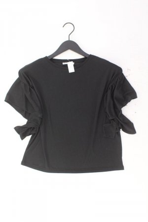 Zara Kurzarmbluse Größe M schwarz