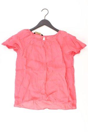 Zara Kurzarmbluse Größe XS pink aus Kunstseide