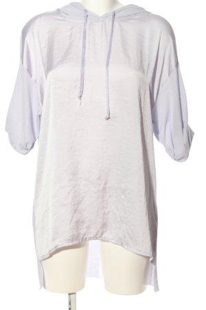 Zara Shirt met capuchon lila casual uitstraling