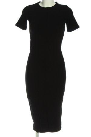 Zara Kurzarmkleid schwarz Elegant
