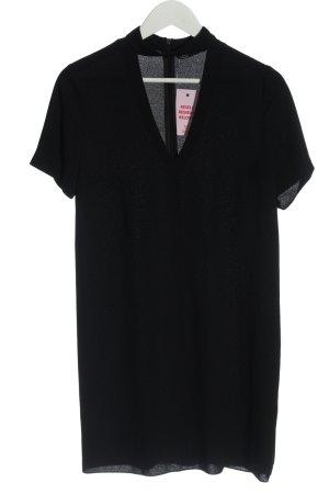 Zara Kurzarmkleid schwarz klassischer Stil