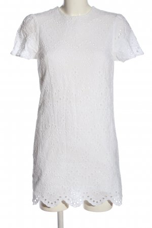 Zara Shortsleeve Dress white casual look