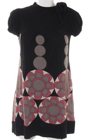 Zara Kurzarmkleid mehrfarbig schlichter Stil