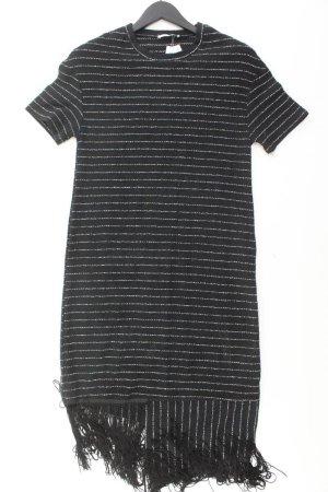 Zara Kurzarmkleid Größe S schwarz aus Baumwolle